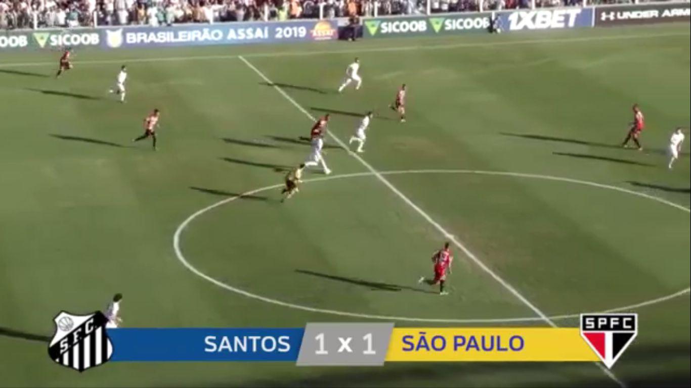 17-11-2019 - Santos FC SP 1-1 Sao Paulo