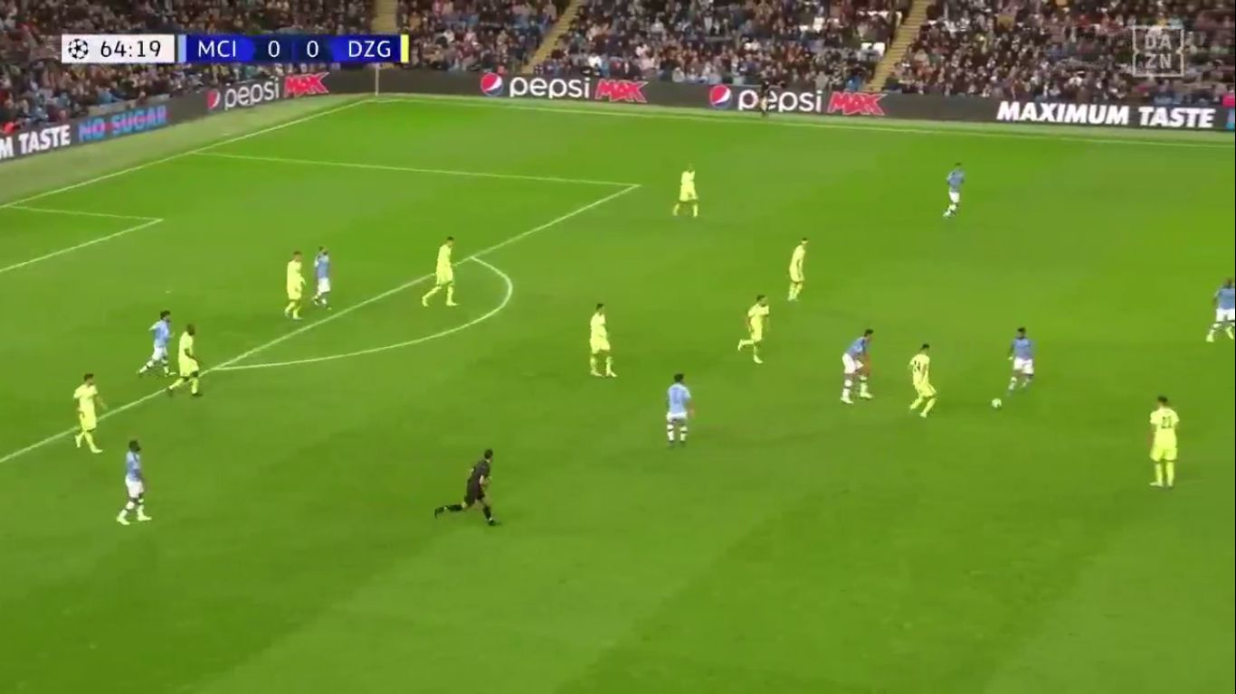 01-10-2019 - Manchester City 2-0 Dinamo Zagreb (CHAMPIONS LEAGUE)