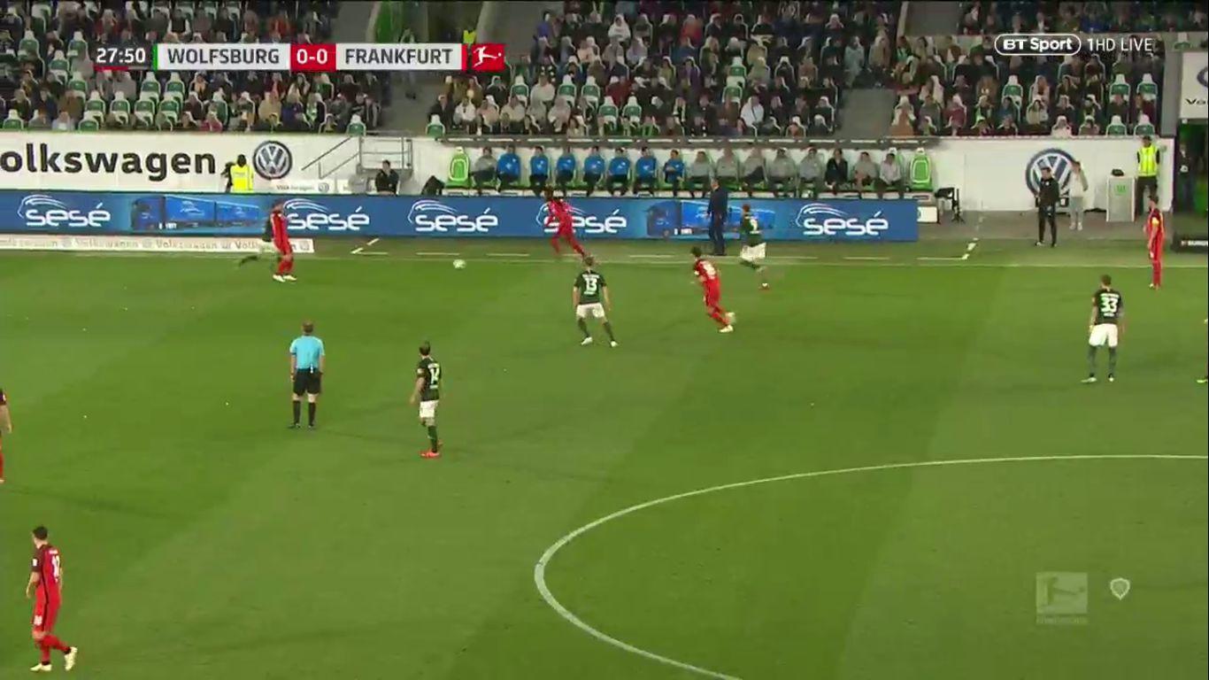 22-04-2019 - Wolfsburg 1-1 Eintracht Frankfurt