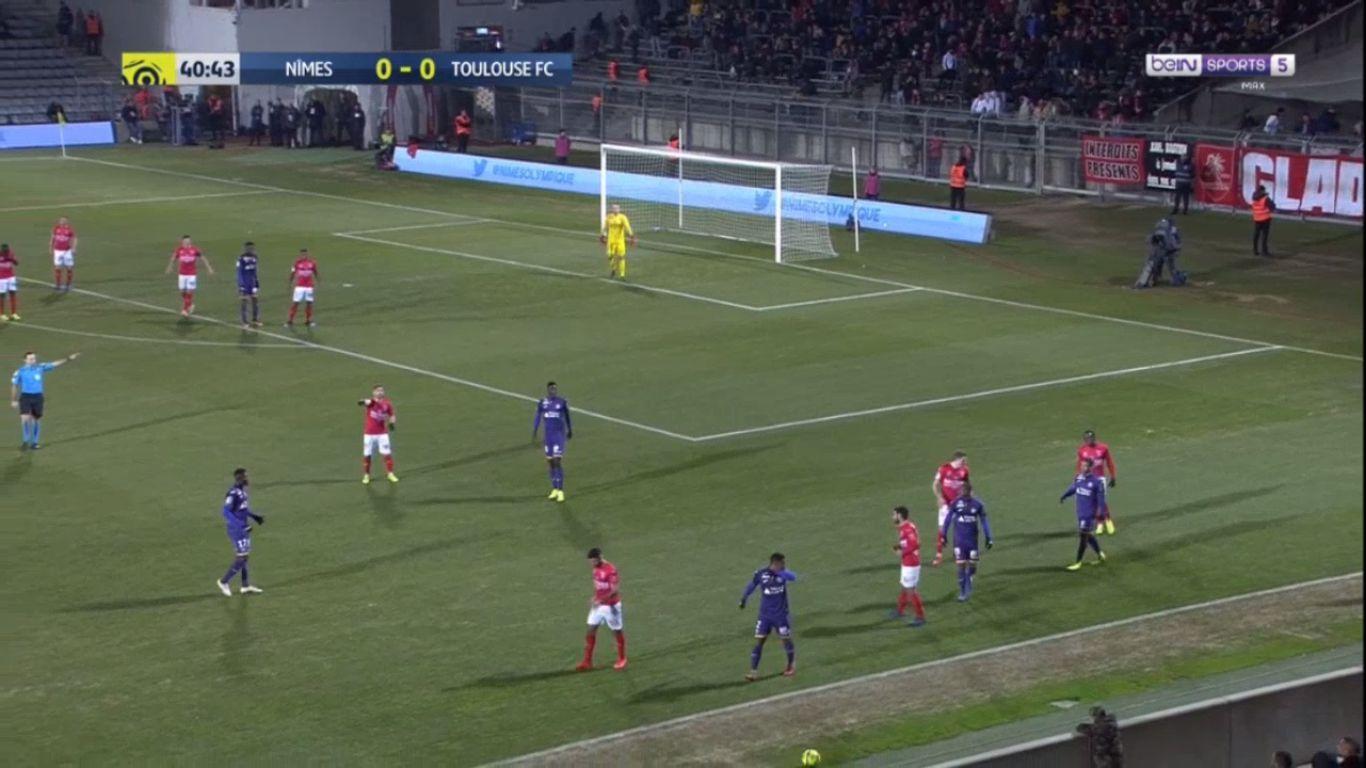 19-01-2019 - Nimes 0-1 Toulouse