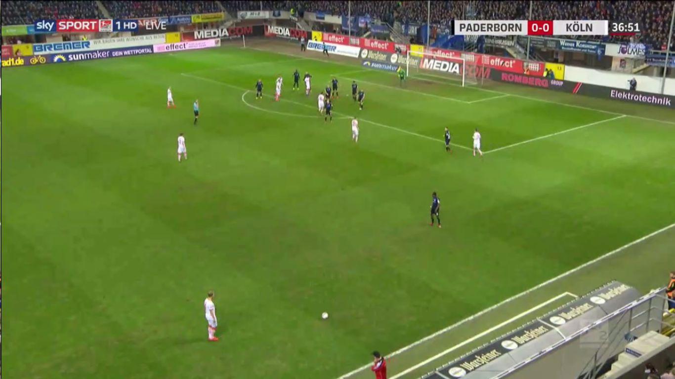 15-02-2019 - SC Paderborn 07 3-2 1. FC Koln (2. BUNDESLIGA)