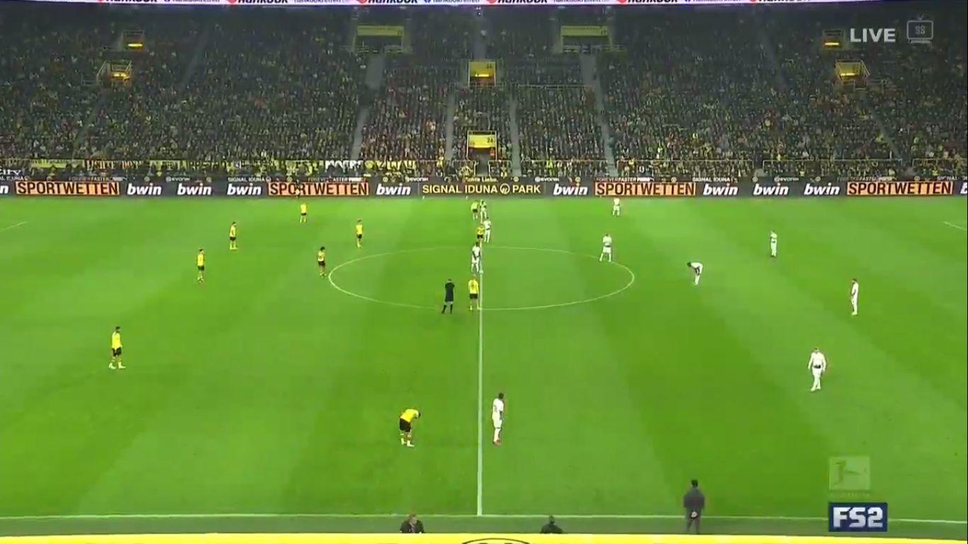 19-10-2019 - Borussia Dortmund 1-0 Borussia Monchengladbach