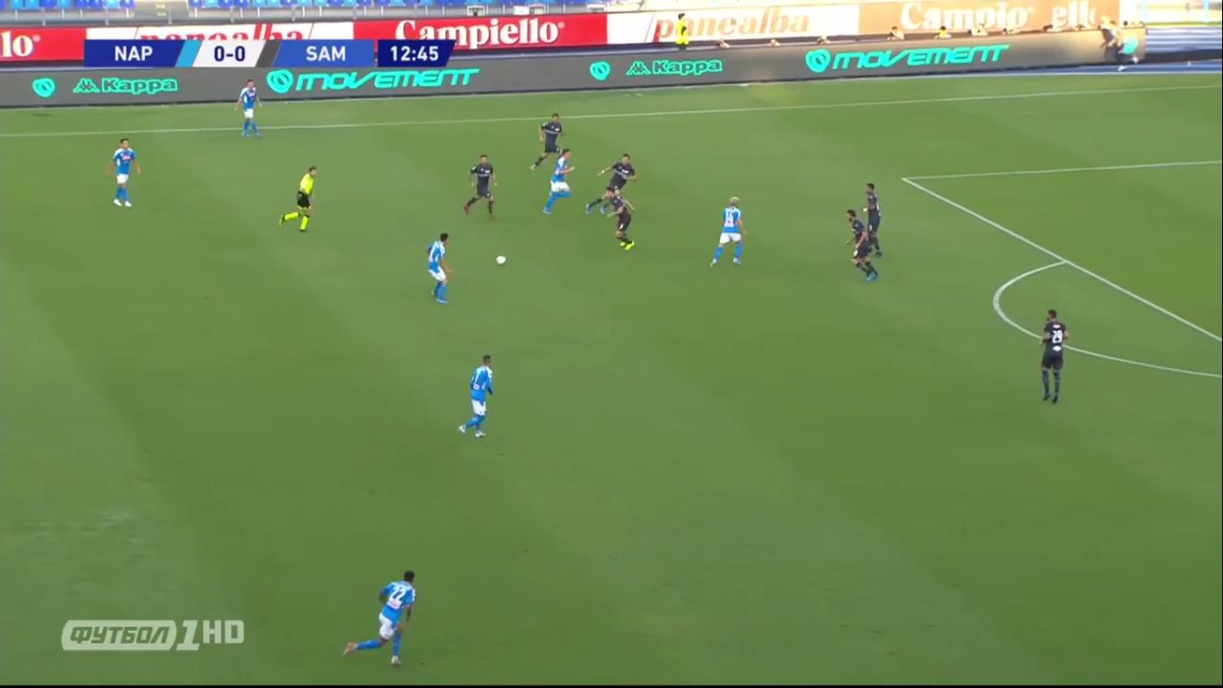 14-09-2019 - Napoli 2-0 Sampdoria