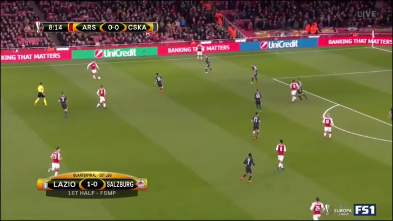 05-04-2018 - Arsenal 4-1 CSKA Moscow (EUROPA LEAGUE)