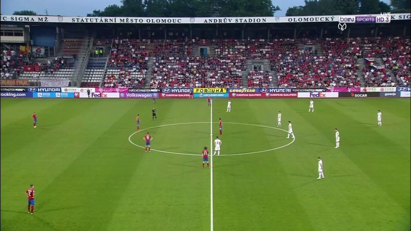 10-06-2019 - Czech Republic 3-0 Montenegro (EURO QUALIF.)