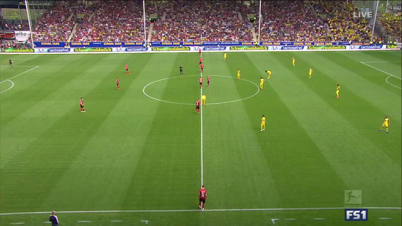 21-04-2019 - Freiburg 0-4 Borussia Dortmund