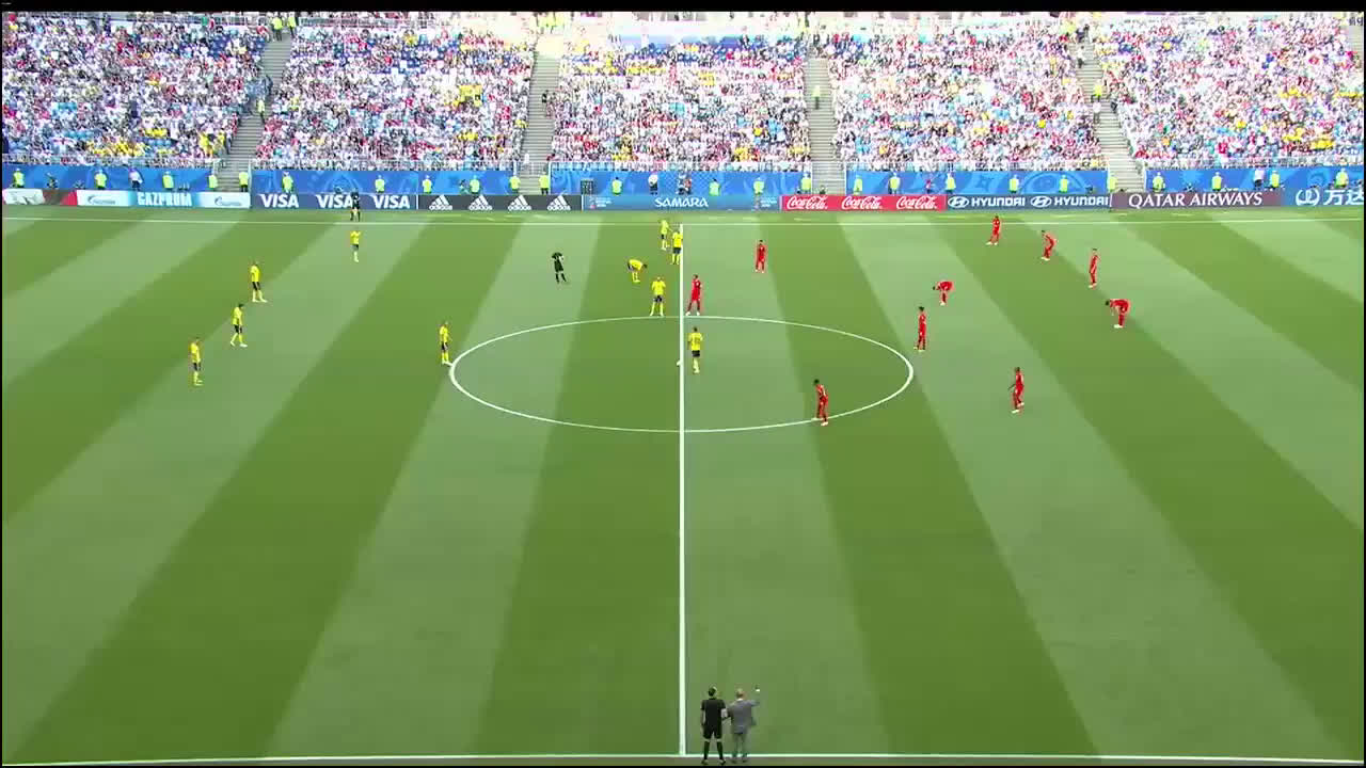 07-07-2018 - Sweden 0-2 England (WORLD CUP 2018)