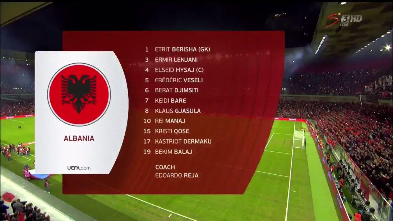 17-11-2019 - Albania 0-2 France (EURO QUALIF.)