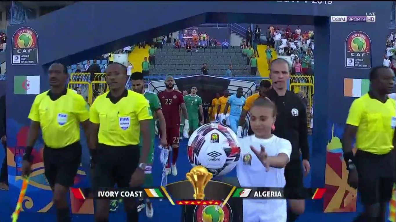 11-07-2019 - Ivory Coast 1-1 (3-4 PEN.) Algeria (AFRICA CUP OF NATIONS)