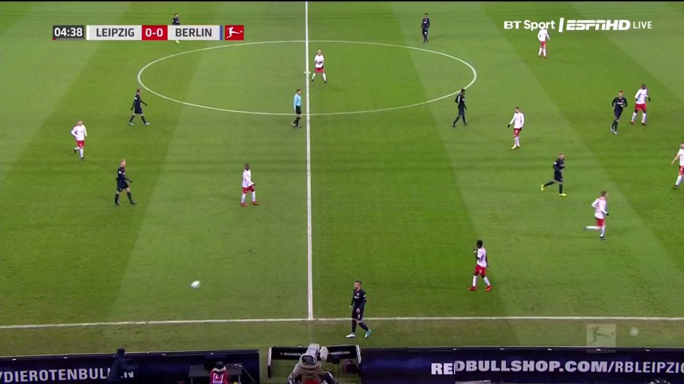 RasenBallsport Leipzig 2-3 Hertha Berlin