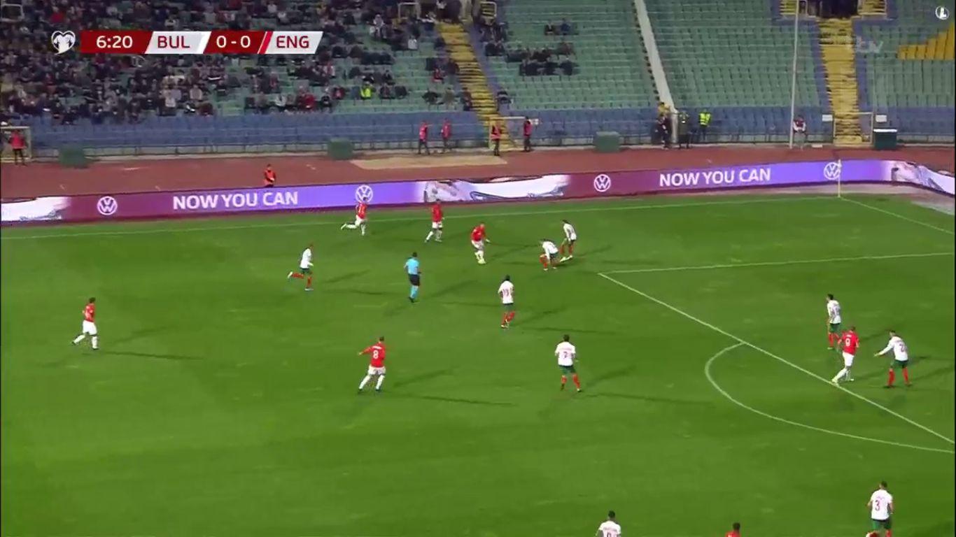14-10-2019 - Bulgaria 0-6 England (EURO QUALIF.)