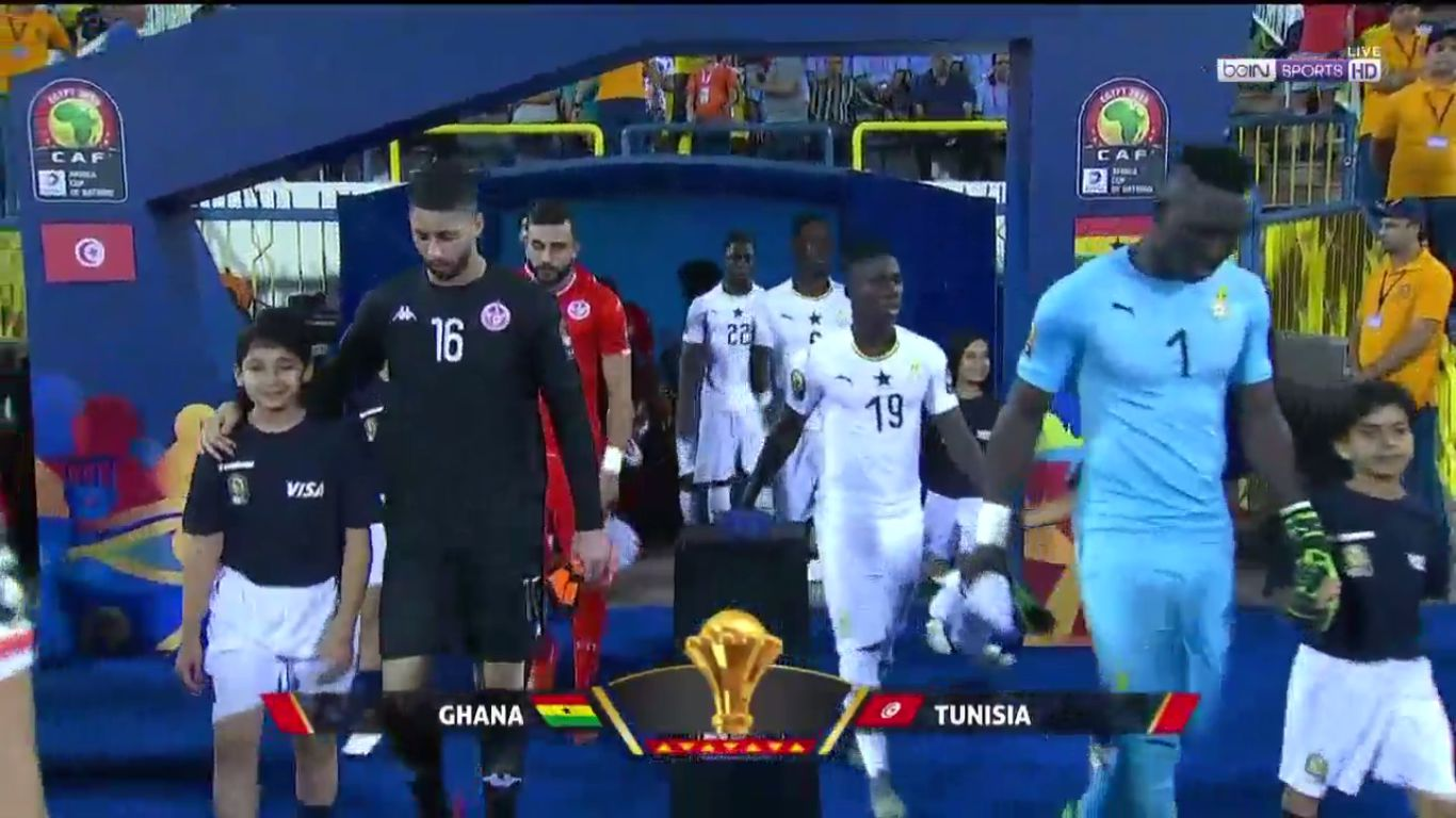 08-07-2019 - Ghana 1-1 (4-5 PEN.) Tunisia (AFRICA CUP OF NATIONS)