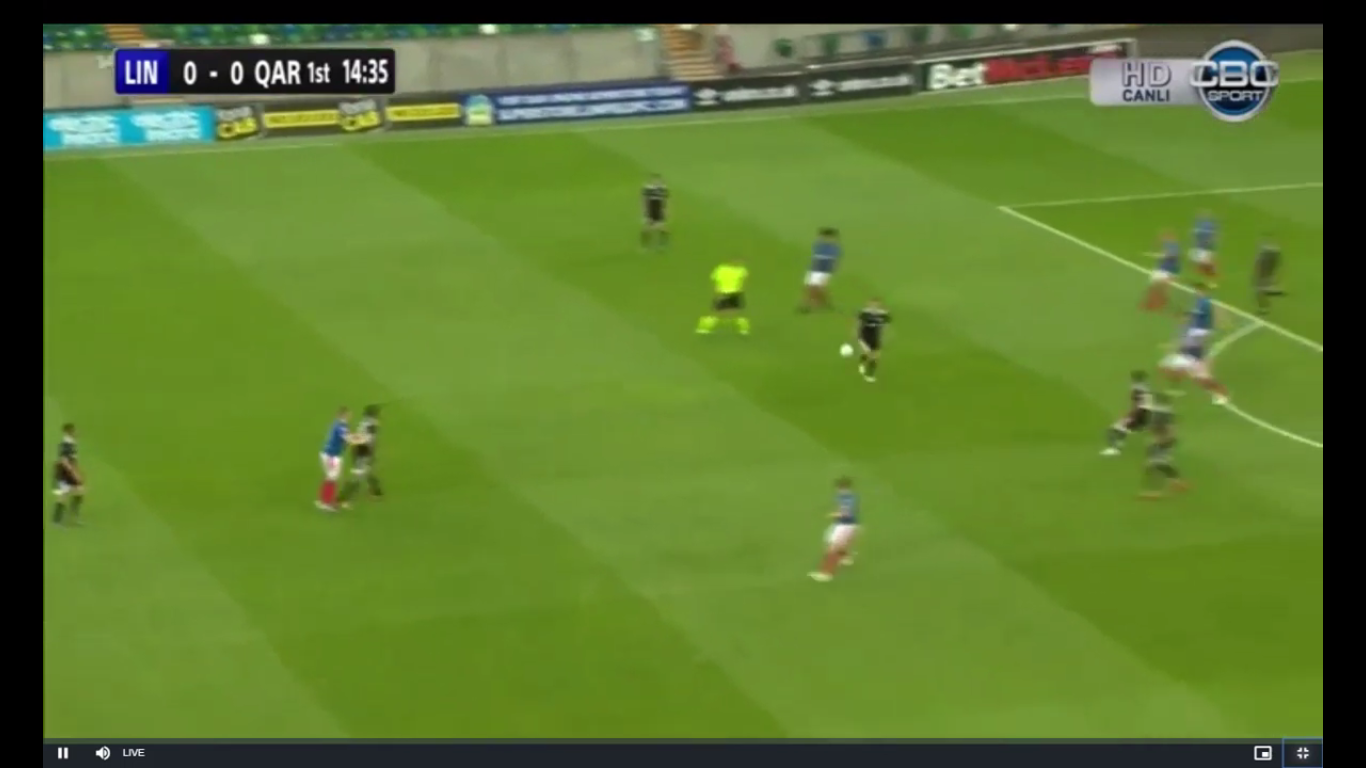 22-08-2019 - Linfield 3-2 Qarabag FK (EUROPA LEAGUE QUALIF.)
