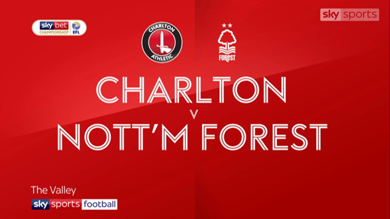 21-08-2019 - Charlton Athletic 1-1 Nottingham Forest (CHAMPIONSHIP)