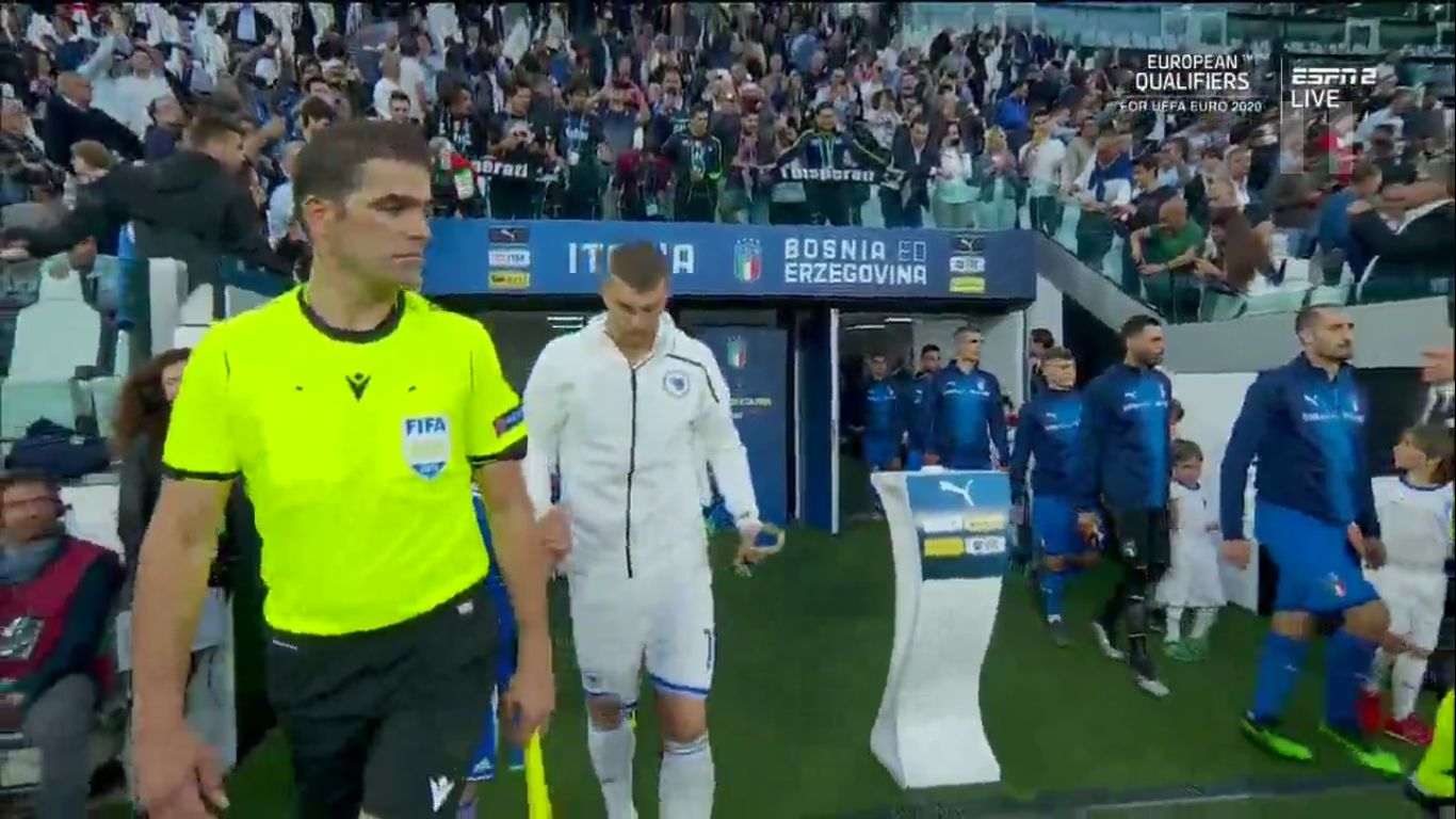 11-06-2019 - Italy 2-1 Bosnia and Herzegovina (EURO QUALIF.)