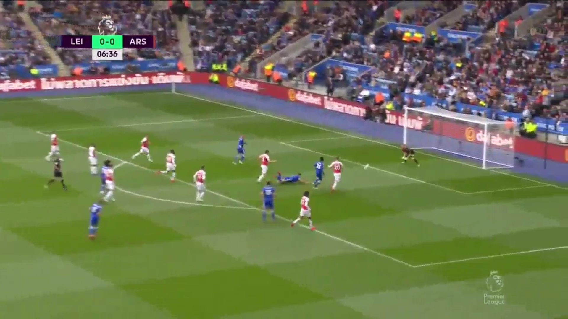 28-04-2019 - Leicester City 3-0 Arsenal