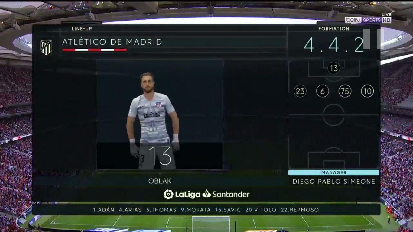 21-09-2019 - Atletico Madrid 0-0 Celta Vigo