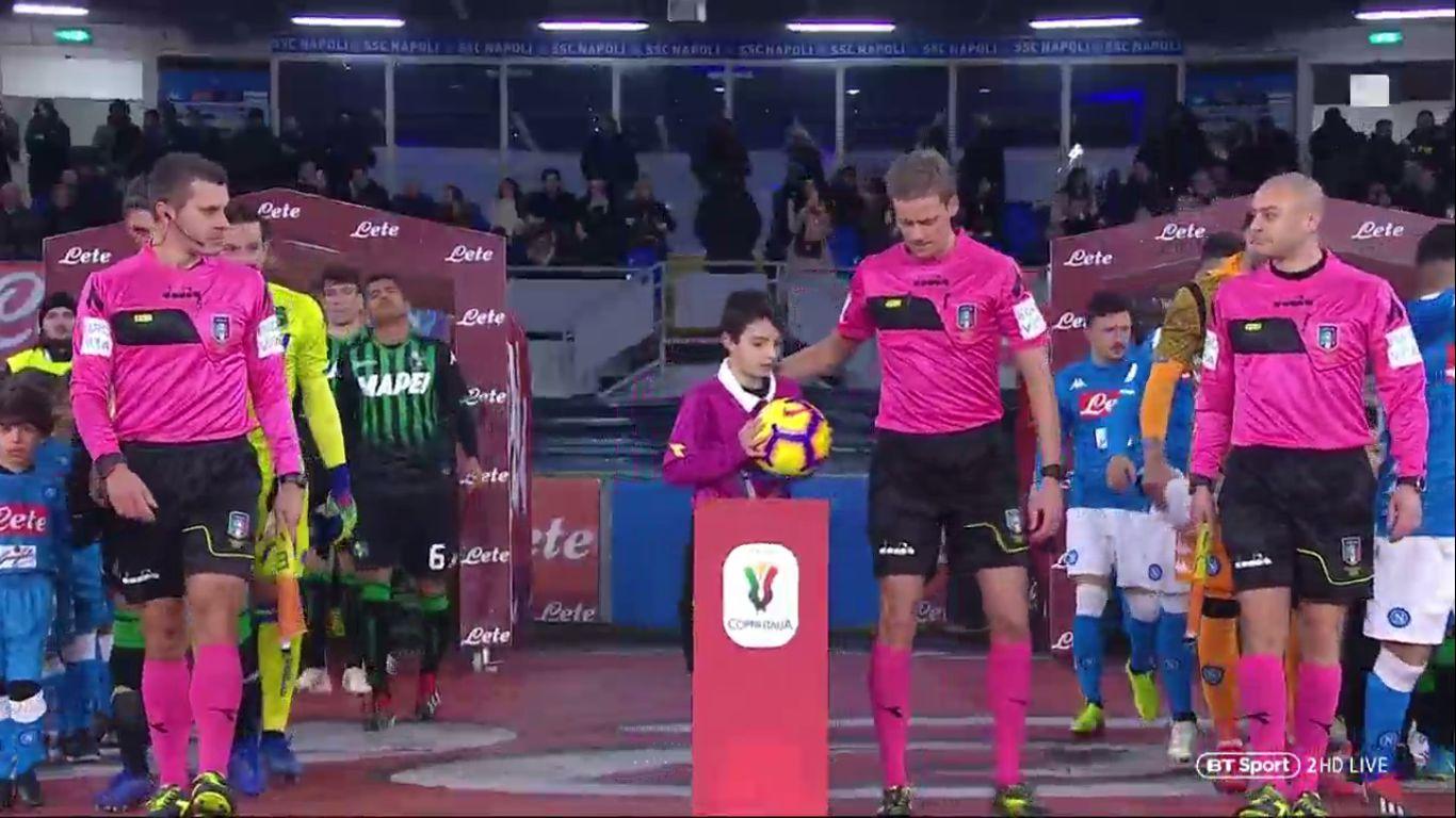 13-01-2019 - Napoli 2-0 Sassuolo (COPPA ITALIA)