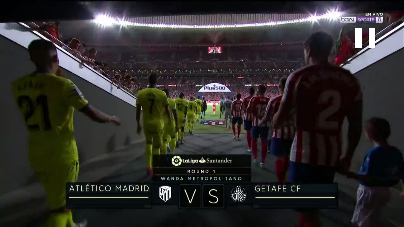 18-08-2019 - Atletico Madrid 1-0 Getafe
