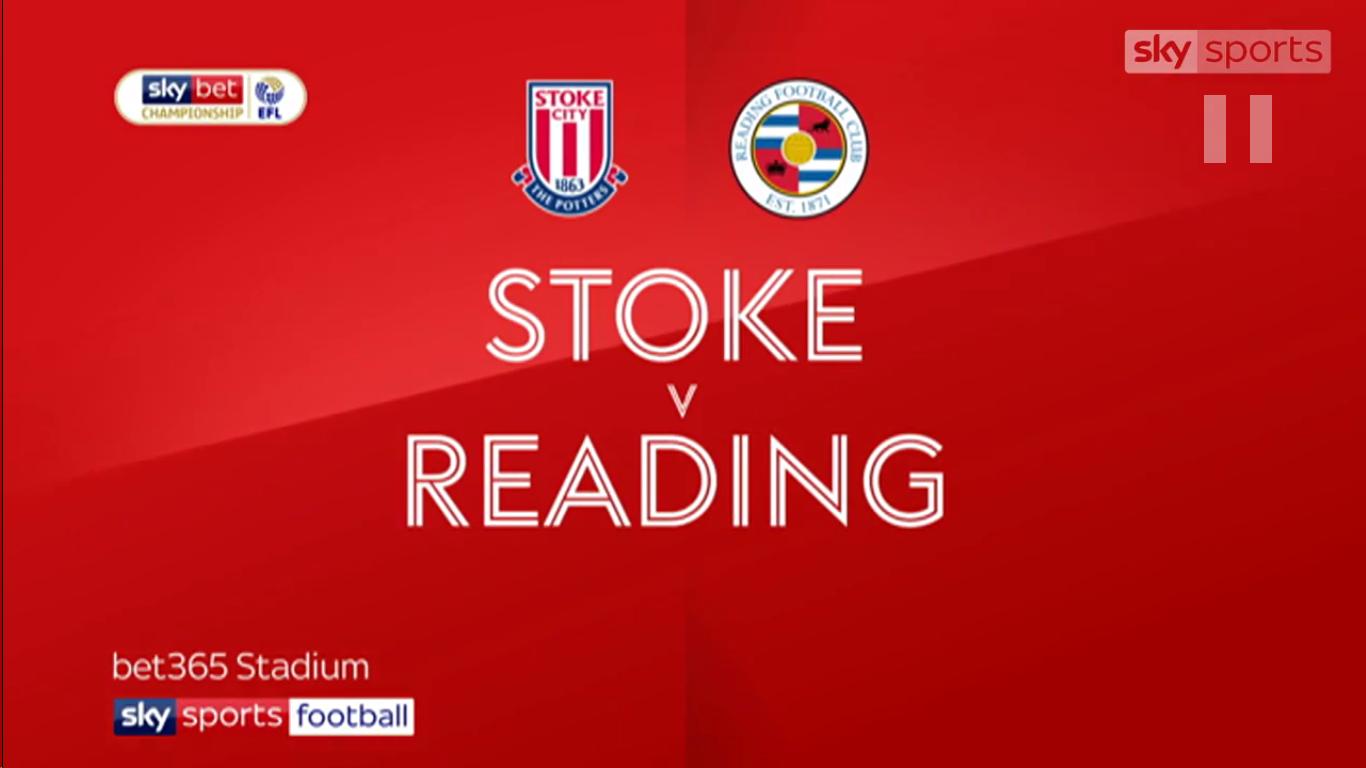 16-03-2019 - Stoke City 0-0 Reading (CHAMPIONSHIP)
