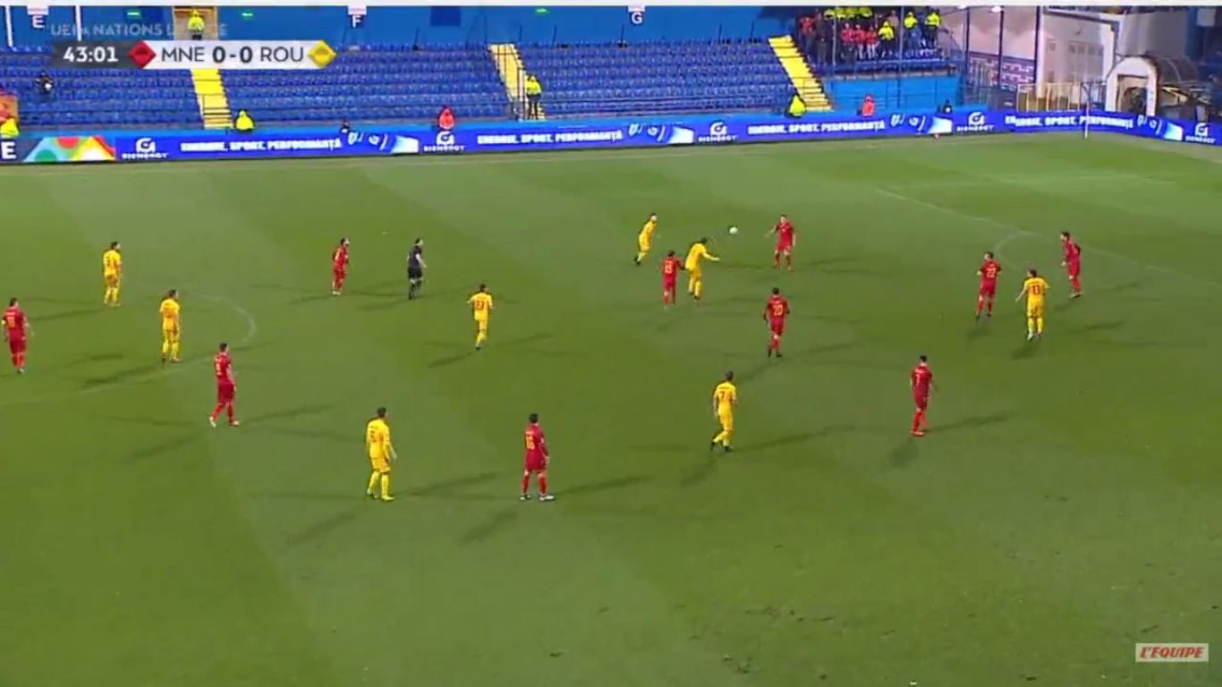 20-11-2018 - Montenegro 0-1 Romania (UEFA NATIONS LEAGUE)