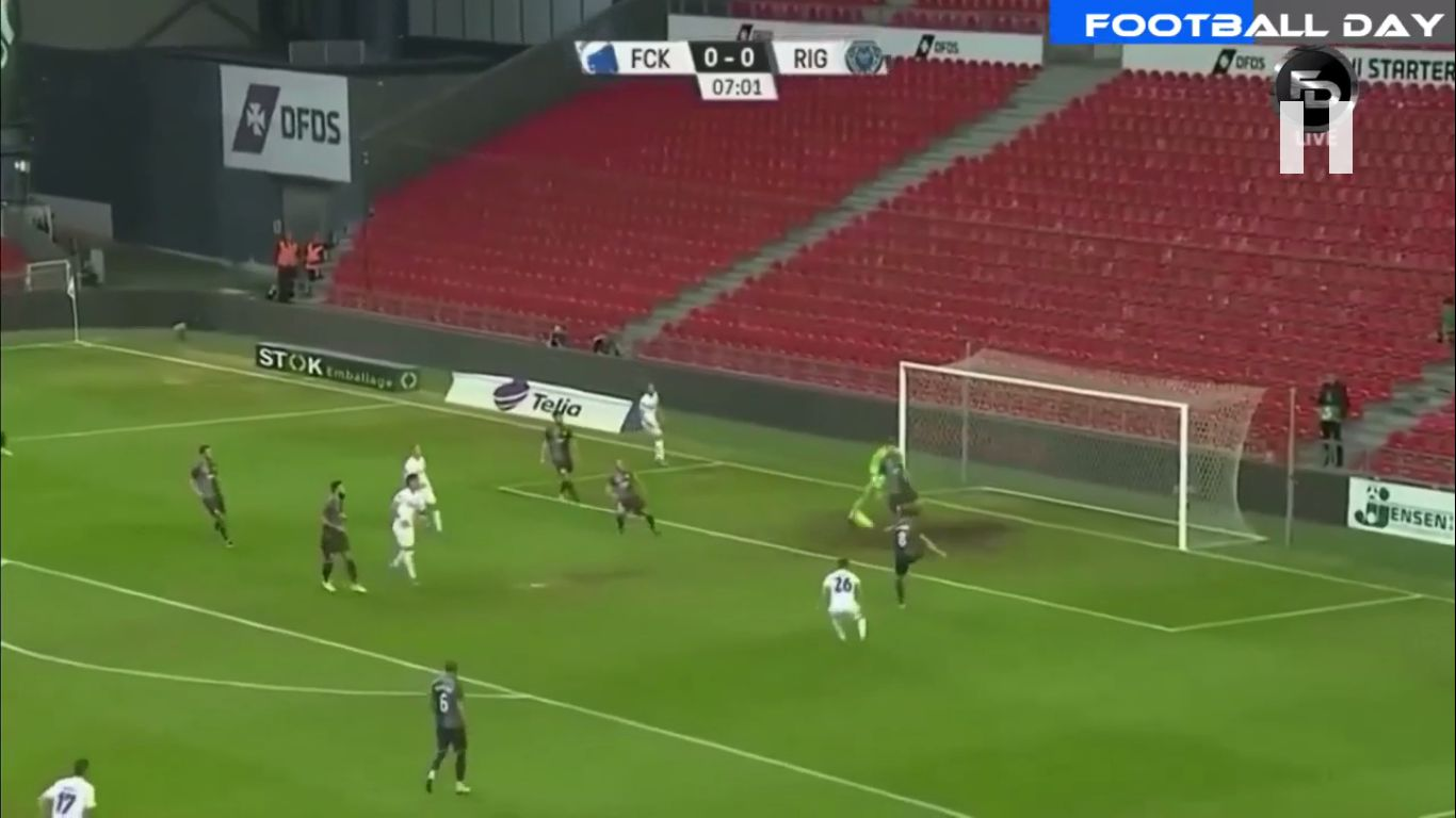 22-08-2019 - FC Koebenhavn 3-1 Riga FC (EUROPA LEAGUE QUALIF.)