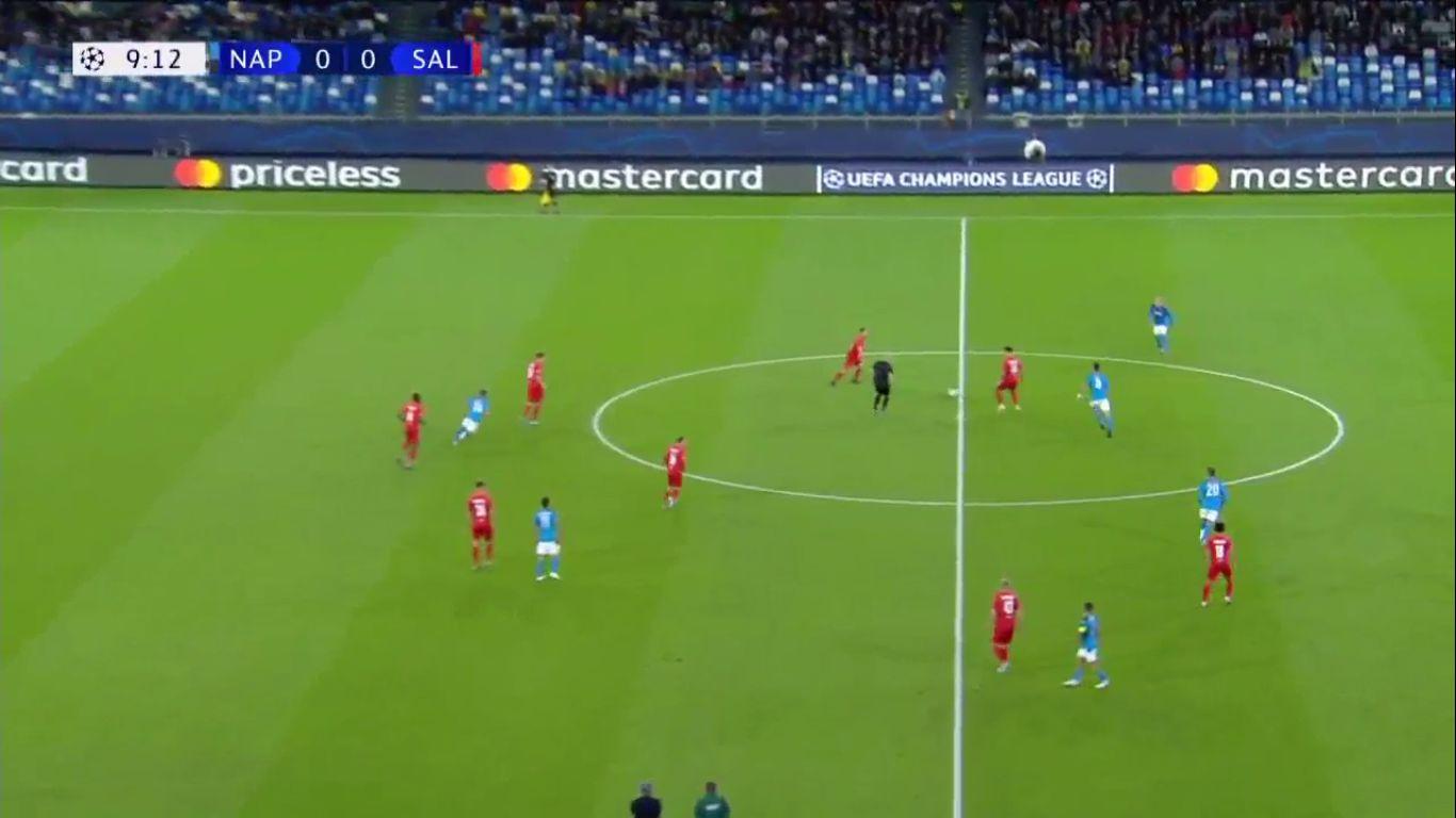 05-11-2019 - Napoli 1-1 Salzburg (CHAMPIONS LEAGUE)