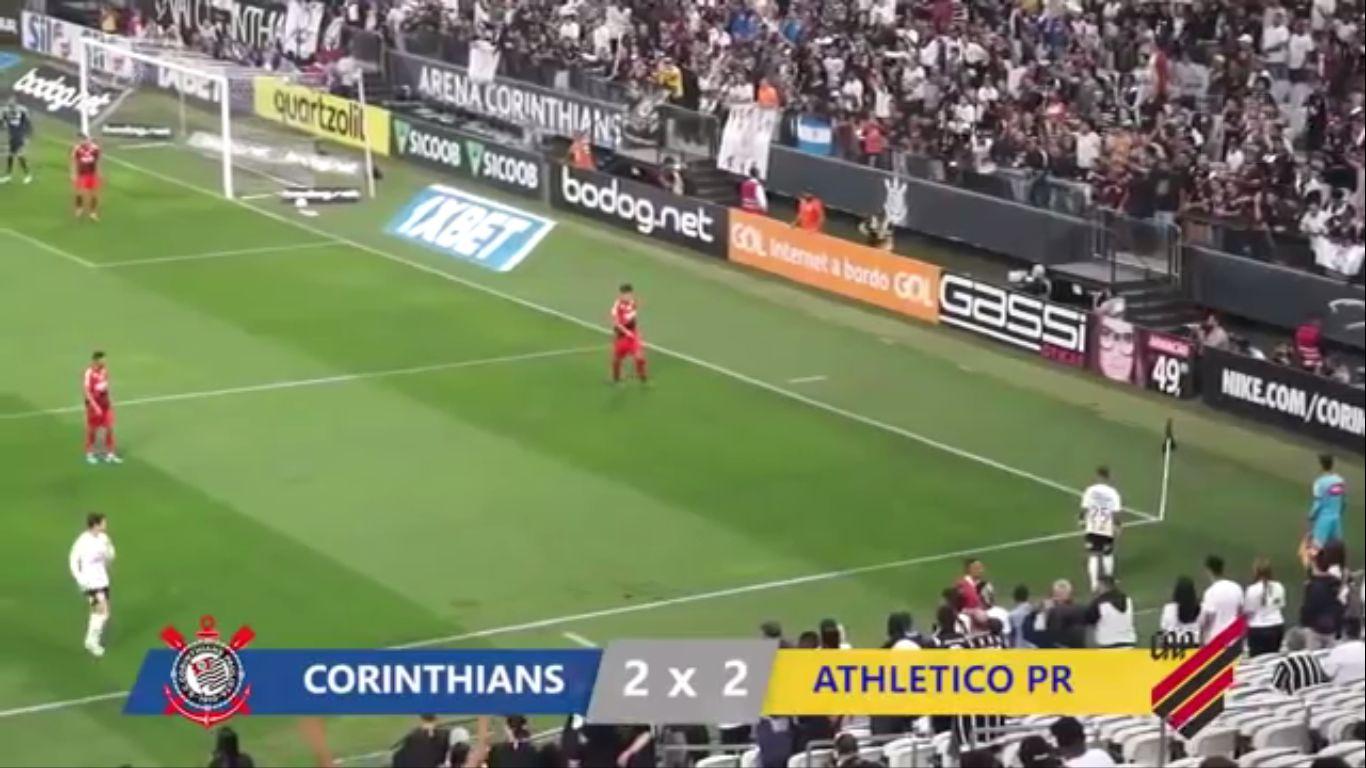 11-10-2019 - SC Corinthians SP 2-2 CA Paranaense PR