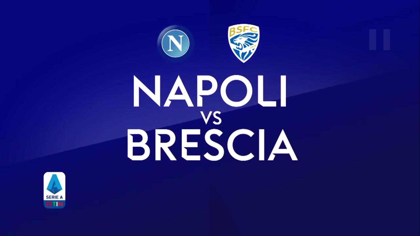 29-09-2019 - Napoli 2-1 Brescia
