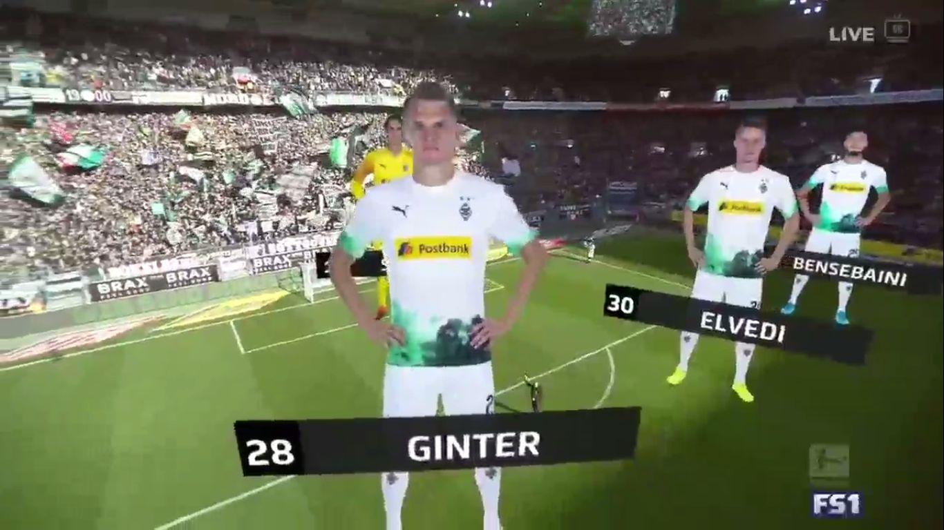10-11-2019 - Borussia Monchengladbach 3-1 Werder Bremen