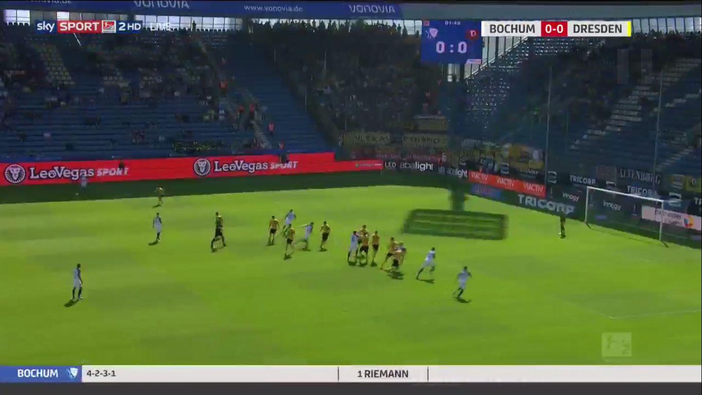 15-09-2019 - VfL Bochum 1848 2-2 SG Dynamo Dresden (2. BUNDESLIGA)
