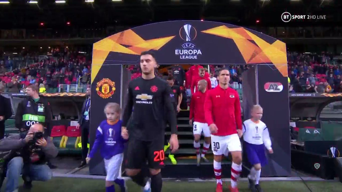 03-10-2019 - AZ Alkmaar 0-0 Manchester United (EUROPA LEAGUE)