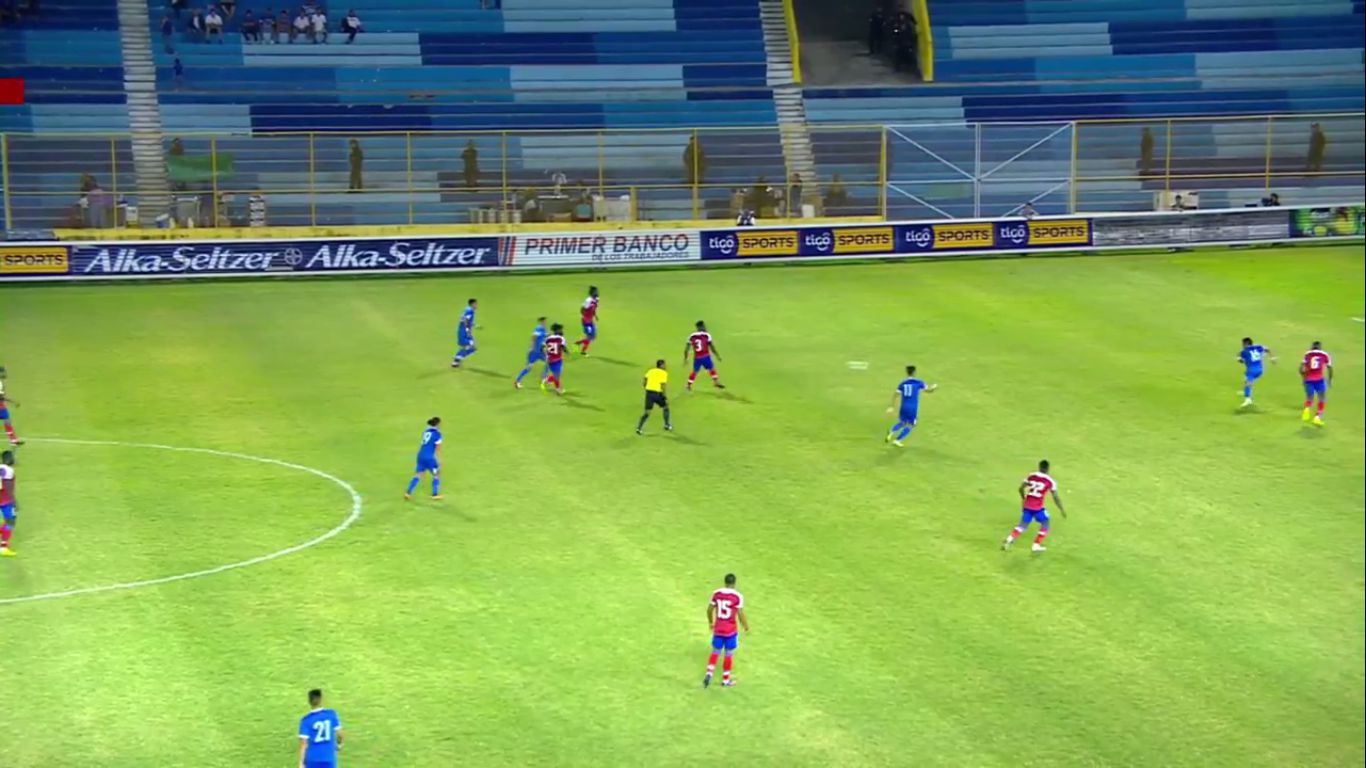 21-11-2018 - El Salvador 1-0 Haiti (FRIENDLY)