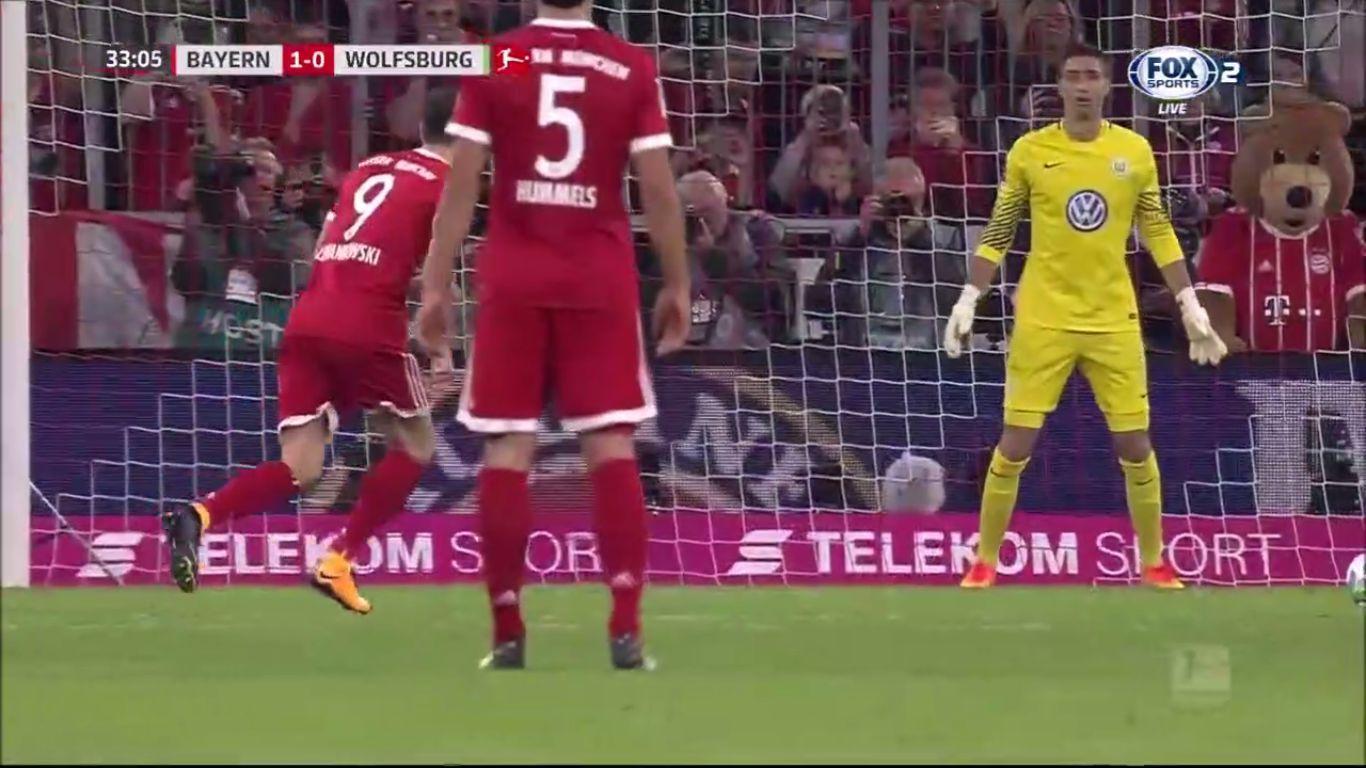 Bayern Munich 2-2 Wolfsburg