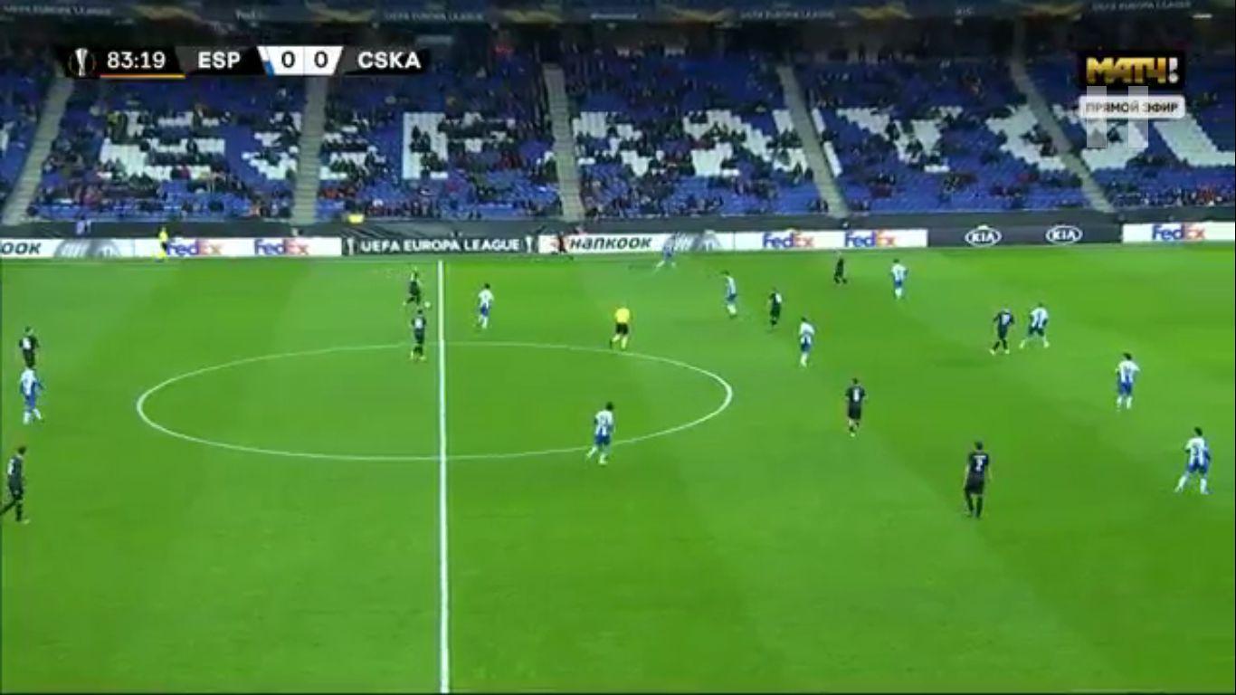 12-12-2019 - RCD Espanyol 0-1 CSKA Moscow (EUROPA LEAGUE)
