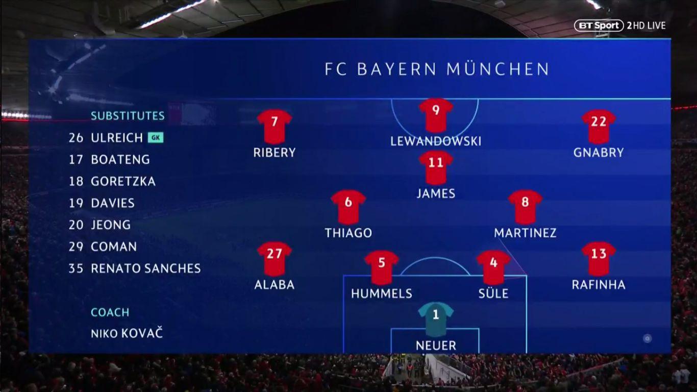 13-03-2019 - FC Bayern Munchen 1-3 Liverpool (CHAMPIONS LEAGUE)