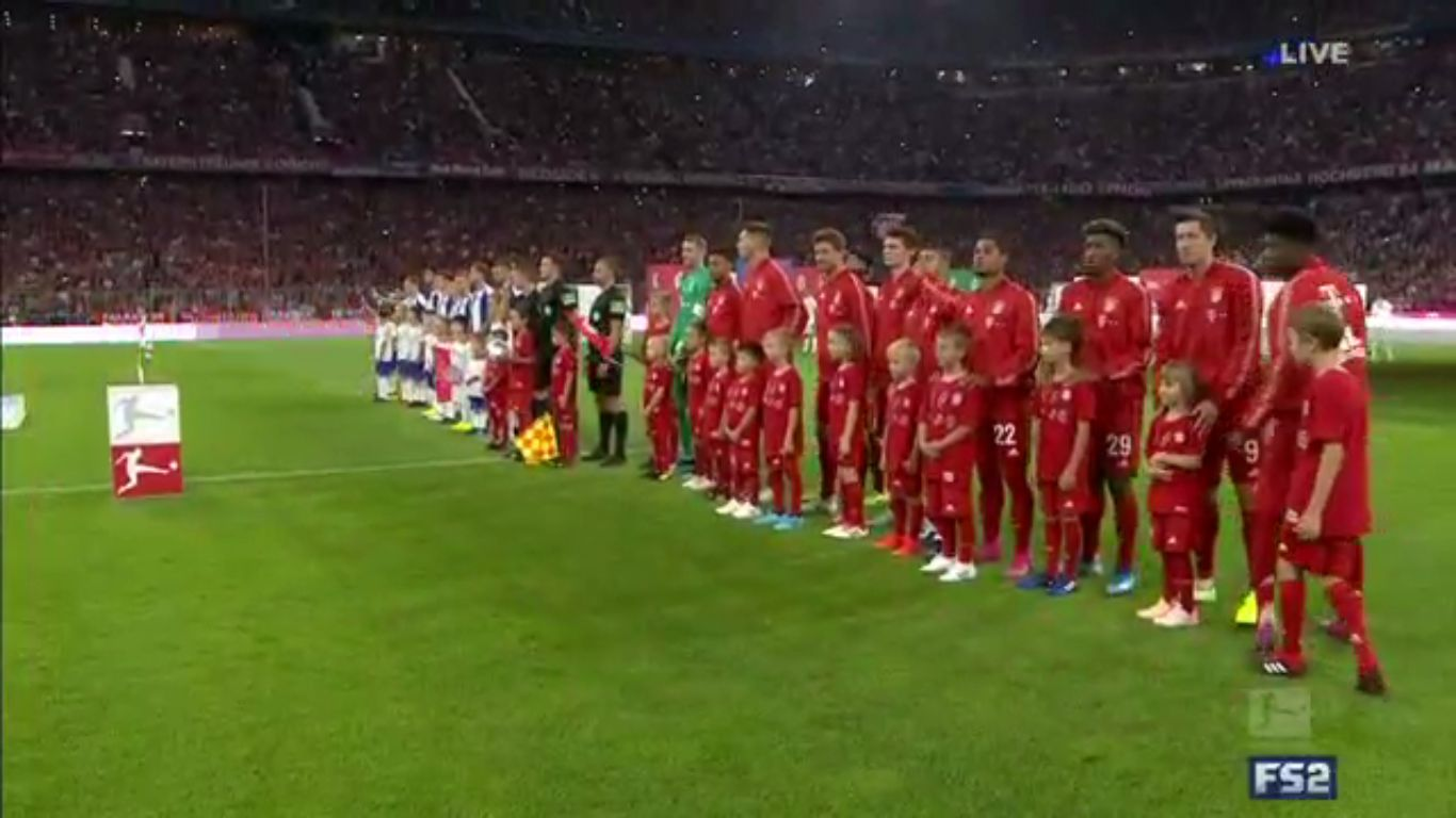 16-08-2019 - FC Bayern Munchen 2-2 Hertha BSC