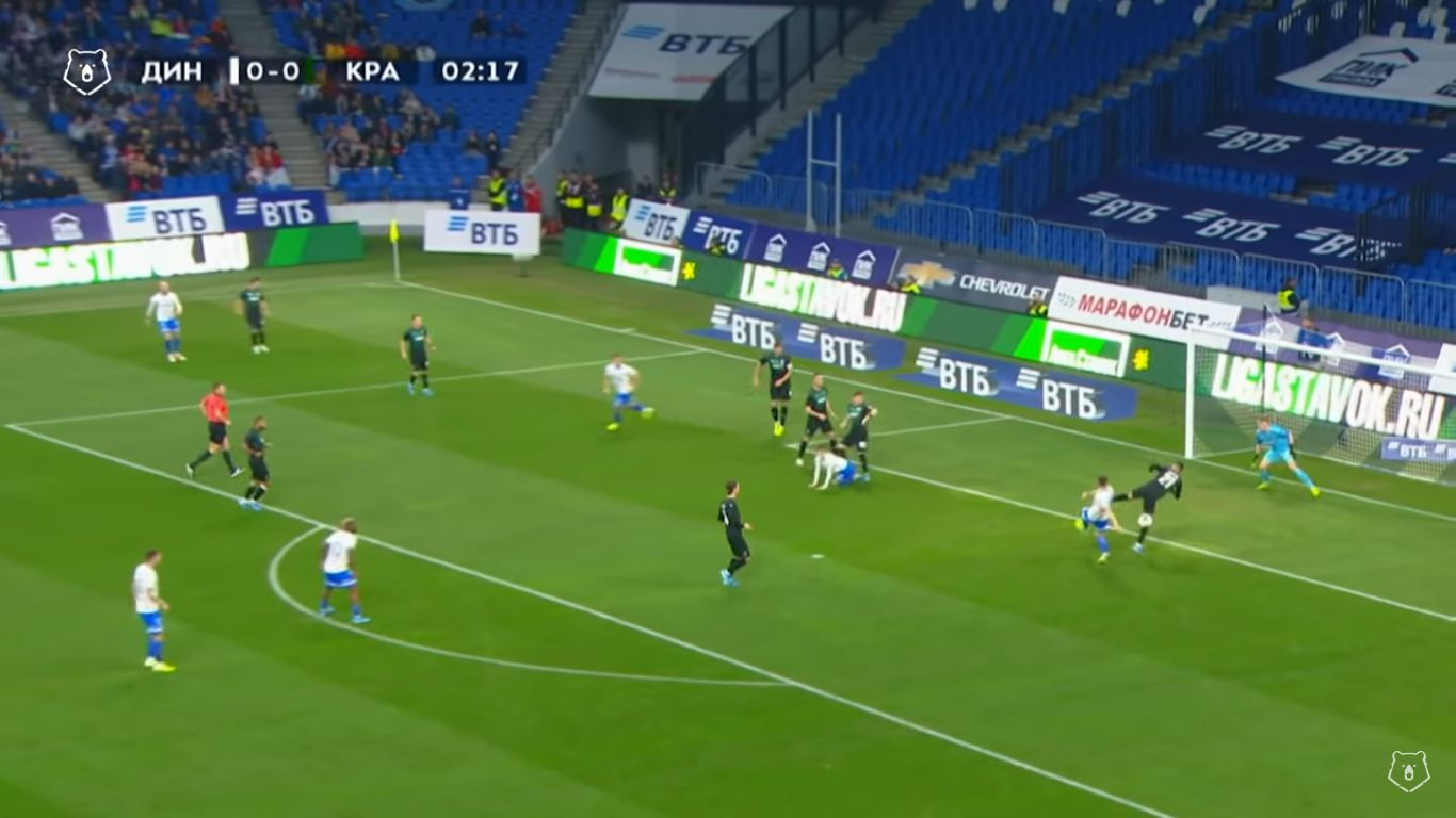 20-10-2019 - FC Dinamo Moscow 1-1 FC Krasnodar