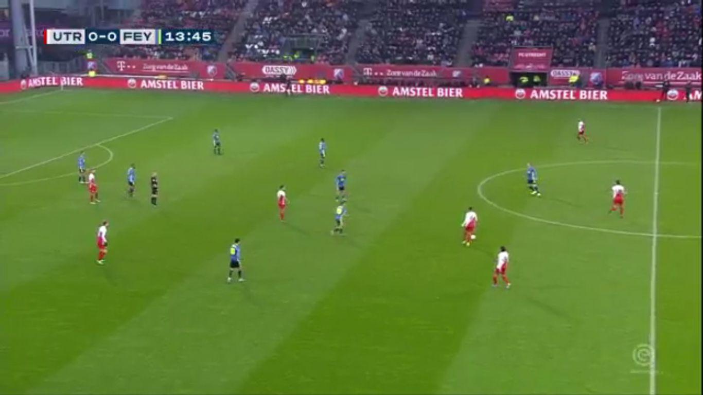 22-12-2019 - FC Utrecht 1-2 Feyenoord