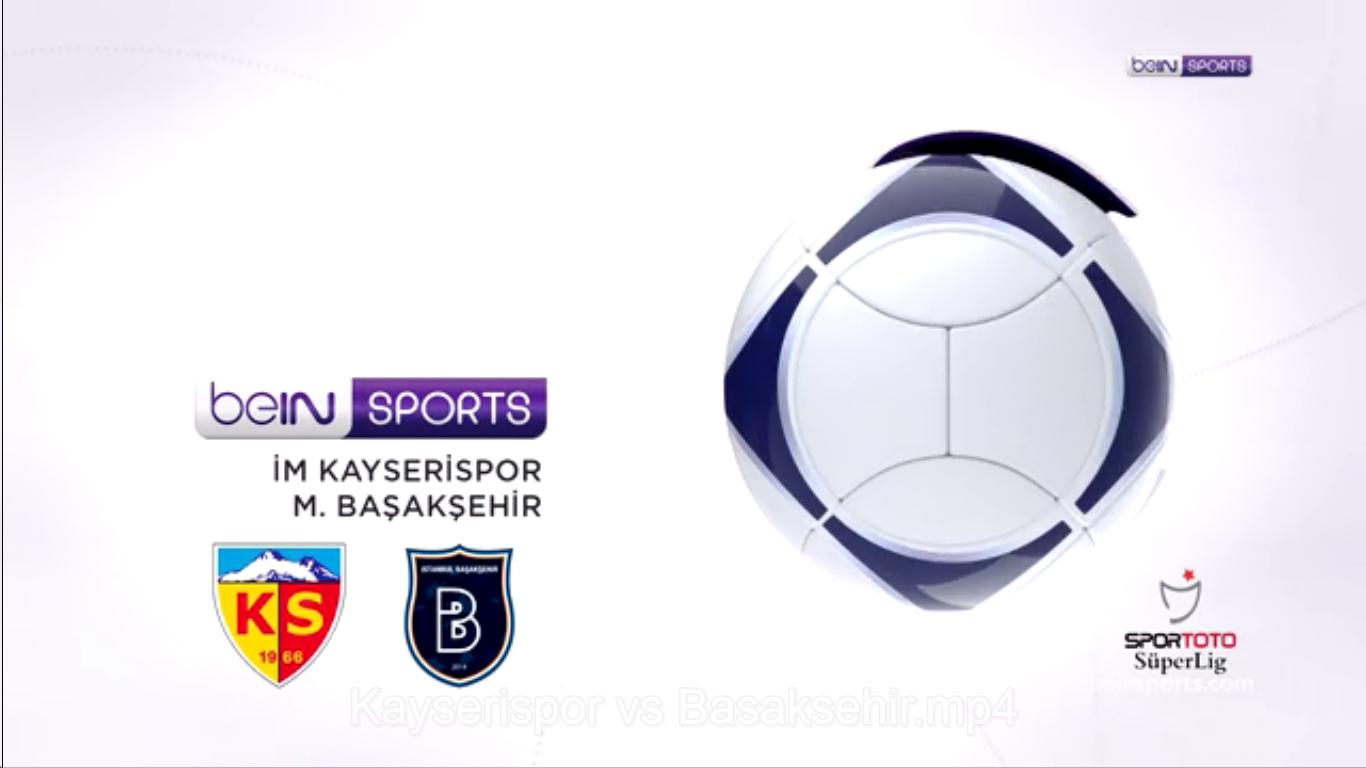 17-03-2019 - Kayserispor 1-1 Istanbul Basaksehir