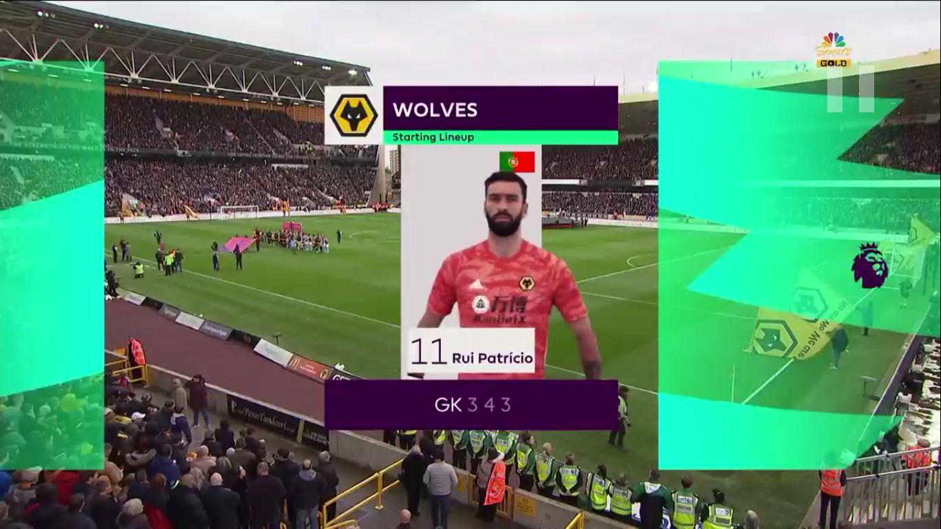 10-11-2019 - Wolverhampton Wanderers 2-1 Aston Villa