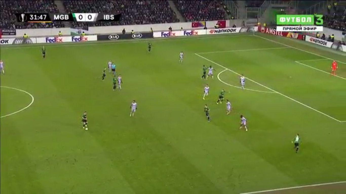 12-12-2019 - Borussia Monchengladbach 1-2 Istanbul Basaksehir (EUROPA LEAGUE)