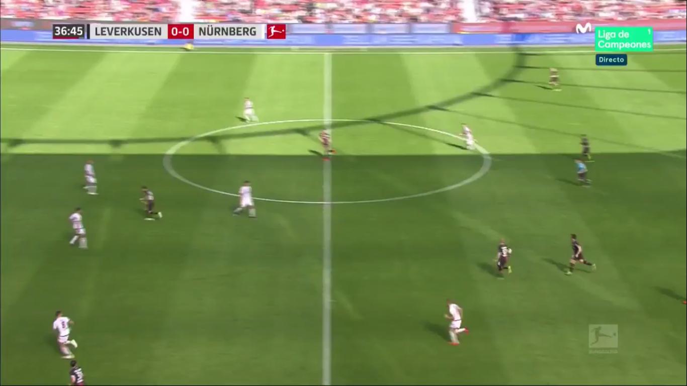 20-04-2019 - Bayer Leverkusen 2-0 1. FC Nurnberg
