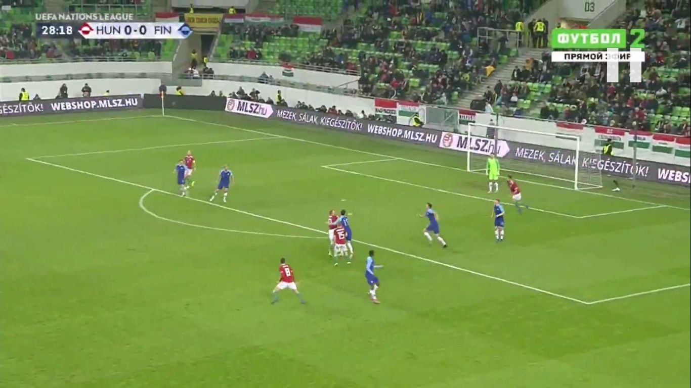 18-11-2018 - Hungary 2-0 Finland (UEFA NATIONS LEAGUE)