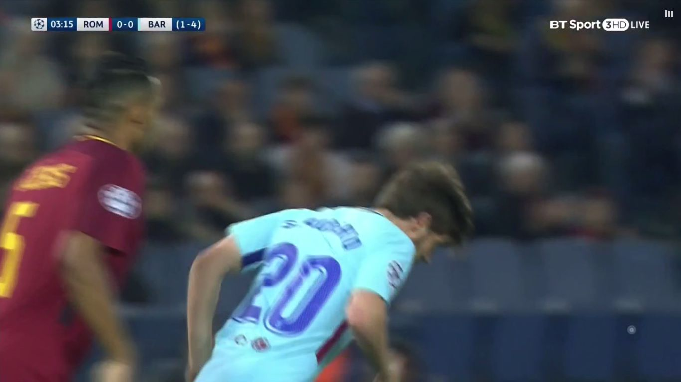 10-04-2018 - Roma 3-0 Barcelona (CHAMPIONS LEAGUE)