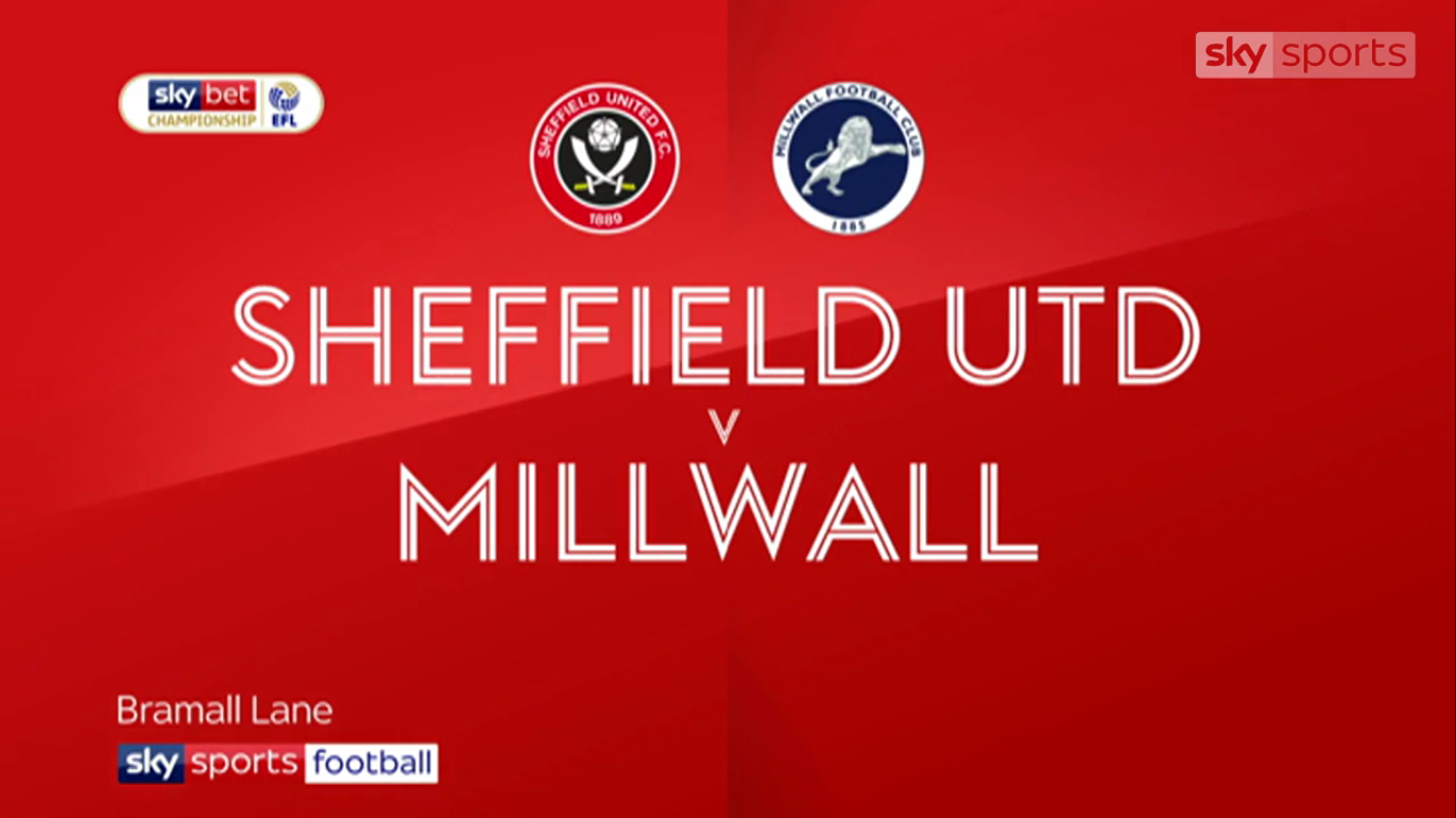 13-04-2019 - Sheffield United 1-1 Millwall (CHAMPIONSHIP)