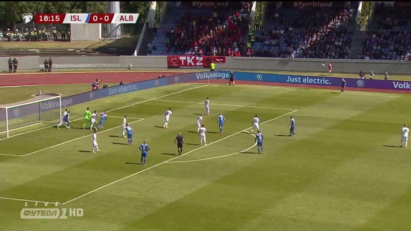 """Résultat de recherche d'images pour """"Iceland 1:0   Albania"""""""