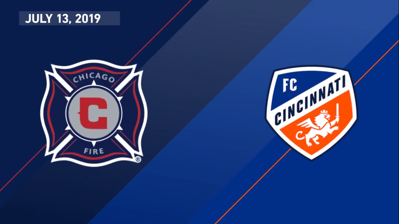 14-07-2019 - Chicago Fire 1-2 FC Cincinnati