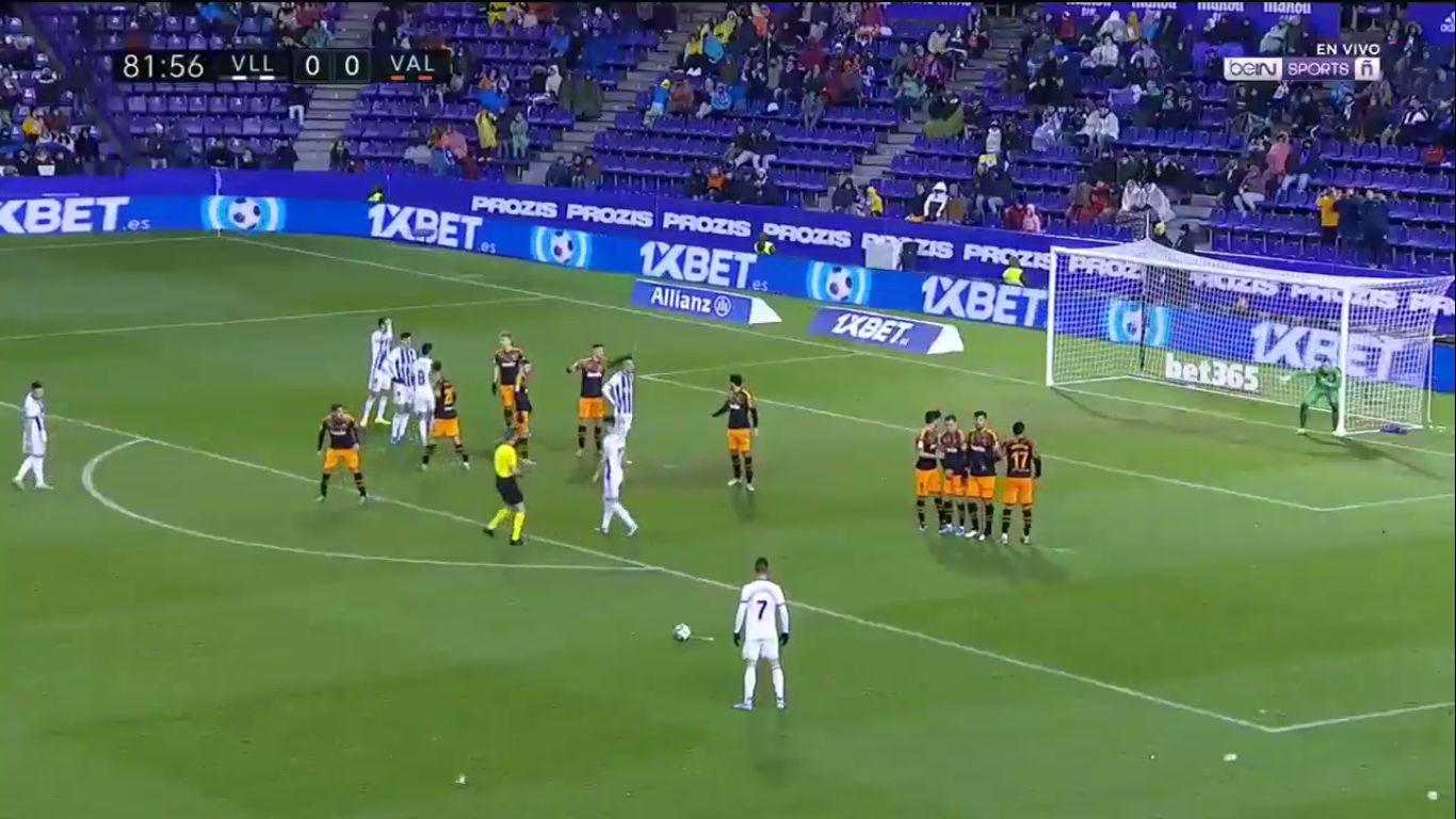 21-12-2019 - Real Valladolid 1-1 Valencia