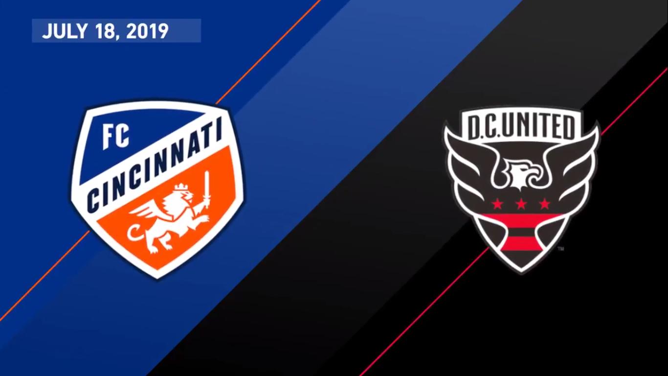19-07-2019 - FC Cincinnati 1-4 DC United
